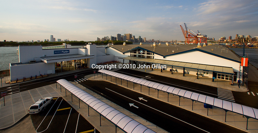 John Gillan architectural photograph at the port in NY