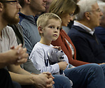 A Nevada fan during a NCAA college basketball game against South Dakota State in Reno, Nev., Saturday, Dec. 15, 2018. (AP Photo/Tom R. Smedes)