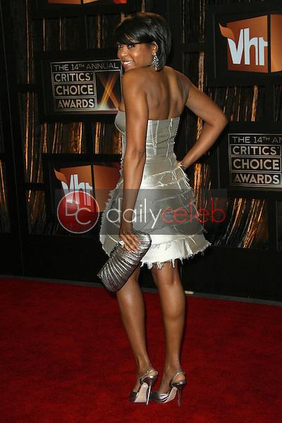 Taraji P. Henson<br />at VH1's 14th Annual Critic's Choice Awards. Santa Monica Civic Auditorium, Santa Monica, CA. 01-08-09<br />Dave Edwards/DailyCeleb.com 818-249-4998