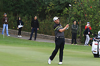 Adilson Da Silva (BRA) on the 18th fairway during Round 3 of the UBS Hong Kong Open, at Hong Kong golf club, Fanling, Hong Kong. 25/11/2017<br /> Picture: Golffile | Thos Caffrey<br /> <br /> <br /> All photo usage must carry mandatory copyright credit     (&copy; Golffile | Thos Caffrey)