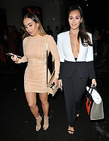 Lauryn Goodman and Chloe Goodman at the LFW s/s 2018 Vin + Omi catwalk show &amp; afterparty, Andaz Liverpool Street Hotel, Liverpool Street, London, England, UK, on Monday 11 September 2017.<br /> CAP/CAN<br /> &copy;CAN/Capital Pictures