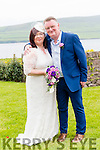 Kay Maunsell, from Abbeydorney, and Niall Lennon, from Dublin, who were married in a civil ceremony at the Skellig Hotel in Dingle on Tuesday afternoon. Best Man was Cormac Lennon and Bridesmaid was Susan Maunsell.