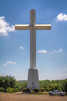 Giant Cross at te Life Church in Edmond Oklahoma on Route 66.