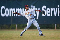 Central Michigan Chippewas left fielder David Cole (44) during a game against the Boston College Eagles on March 8, 2016 at North Charlotte Regional Park in Port Charlotte, Florida.  Boston College defeated Central Michigan 9-3.  (Mike Janes/Four Seam Images)