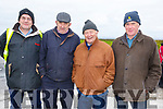 Willie Daly, William Goggin, Pat Slattery and Patrick Casey at the Gerald Lynch Memorial Vintage Run in the Hopper Inn in Causeway on Sunday.