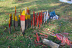 Stakes Used In Marking Mine Field