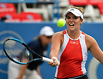 Catherine McNally (USA) defeated Christina McHale 6-3, 1-6, 6-3