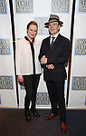 Jennifer Ehle and Jefferson Mays attends the Opening Night Performance press reception for the Lincoln Center Theater production of 'Oslo' at the Vivian Beaumont Theater on April 13, 2017 in New York City.