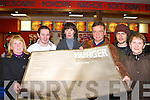MOVIE: The parents of film star Michael Fassbender, Adele and Josef bring their staff from West End House restaurant, Killarney to see his new movie 'Hunger' at Killarney Cinema on Tuesday evening l-r: Mary Doherty, Alan McGorrian, Adele and Josef Fassbender, Christopher and Nora Fritsche.   Copyright Kerry's Eye 2008