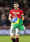 Igor Rossi with Brazilian flag