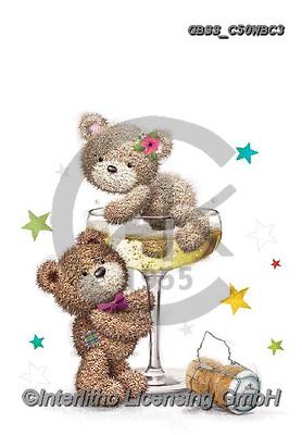 Sharon, WEDDING, HOCHZEIT, BODA, paintings+++++,GBSSC50WBC3,#W#, EVERYDAY ,bears