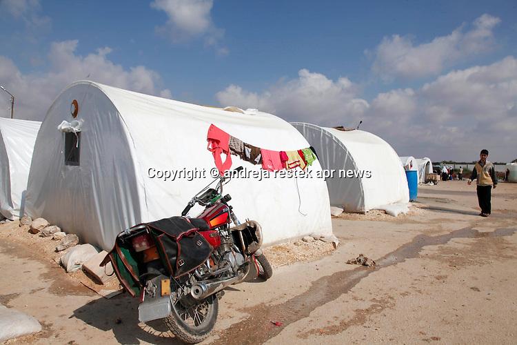 Campi profughi in Syria