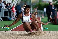 17 MAY 2009 - LOUGHBOROUGH,GBR - Abigail Irozuru - Womens Long Jump - Loughborough International Athletics .(PHOTO (C) NIGEL FARROW)
