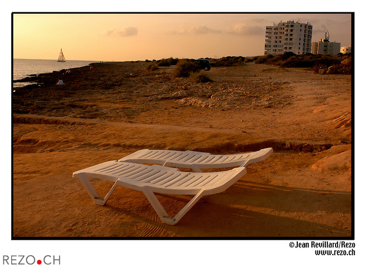Sunset Strip a IBIZA..JR03020  / Plage Sant antoni..Ibiza septembre 2003