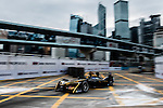 Ma Qing Hua of Techeetah Racing team during the first race of the FIA Formula E Championship 2016-17 season HKT Hong Kong ePrix at the Central Harbourfront Circuit on 9 October 2016, in Hong Kong, China. Photo by Victor Fraile / Power Sport Images