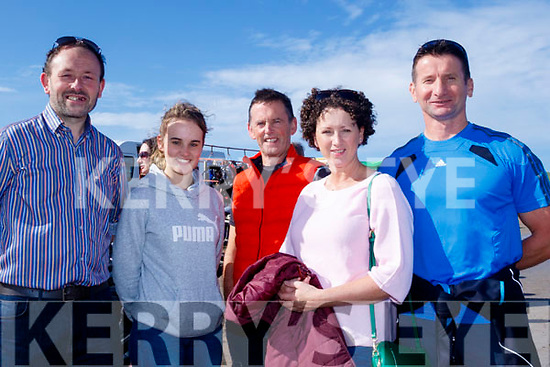 There Off<br /> ------------<br /> Having a flutter at the Races in Ballyferritor last Sunday were L-R Donal Green, Anna&amp;Sean Moriarty with Daire&amp;Tom&aacute;s O Beaglaoich.