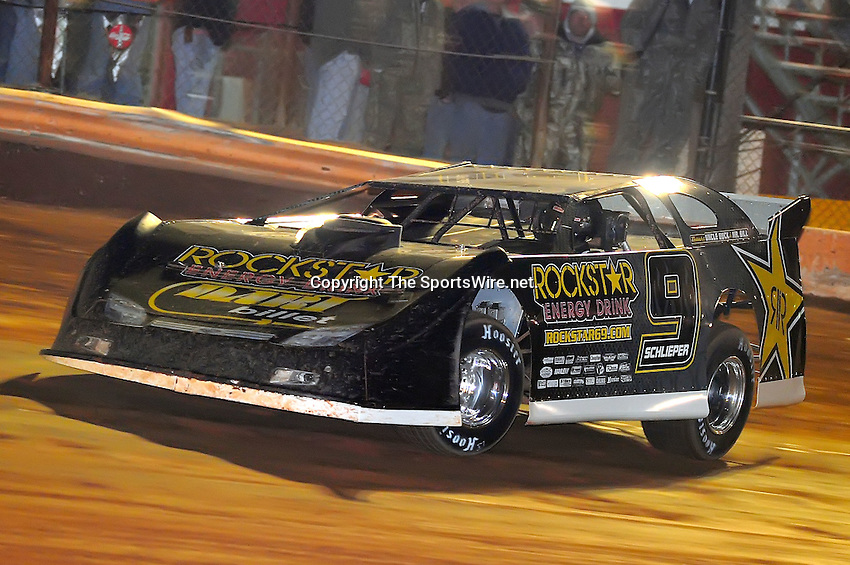 Jan 28, 2010; 7:00:31 PM; Waynesville, GA., USA; The Southern All Stars Racing Series running The Super Bowl of Racing VI at Golden Isles Speedway.  Mandatory Credit: (thesportswire.net)