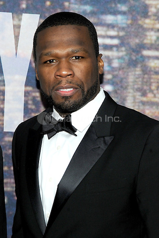 New York, NY- February 15:  Curtis '50 Cent' Jackson attends the SNL 40th Anniversary Celebration at Rockefeller Plaza on  on February 15, 2015 in New York City.  Credit: John Palmer/MediaPunch