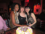 Beverly Lee & Shailah Edmonds' Bday Bash at Flute 4-17-13