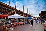Sante Fe Saturday morning farmers market.