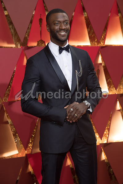 26 February 2017 - Hollywood, California - Aldis Hodge. 89th Annual Academy Awards presented by the Academy of Motion Picture Arts and Sciences held at Hollywood & Highland Center. Photo Credit: AMPAS/AdMedia