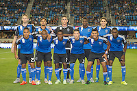 San Jose, CA. - Saturday, September 12, 2015: The San Jose Earthquakes tied with the Seattle Sounders 1-1 at Avaya Stadium.
