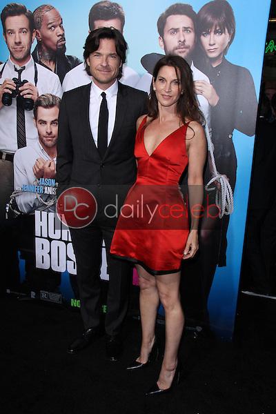 "Jason Bateman, Amanda Anka<br /> at the ""Horrible Bosses 2"" Los Angeles Premiere, TCL Chinese Theater, Hollywood, CA 11-20-14<br /> David Edwards/DailyCeleb.com 818-249-4998"