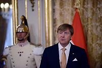 Roma, 20 Giugno 2017<br /> Re Willem Alexander .<br /> Quirinale<br /> Visita di Stato dei Reali dei Paesi Bassi in Italia