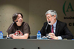 """XXX during the press conference to present the book """"John Landis. Un Hombre Lobo en Hollywood"""" in Madrid. May 27, 2016. (ALTERPHOTOS/Borja B.Hojas)"""