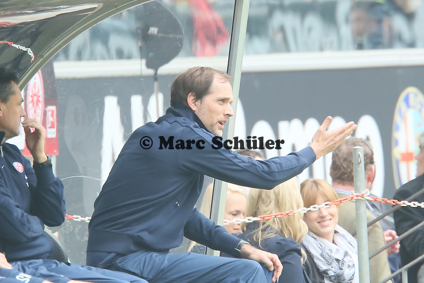 Trainer Thomas Tuchel (mainz) - Eintracht Frankfurt vs. 1. FSV Mainz 05