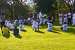 Grupo jogando capoeira, Jardim Botânico, Curitiba. Parana. 2016. Foto de Daniel Cymbalista.