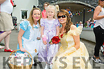Alice and Belle with Dominika Kowalbwski at the Kilflynn Enchanted Fairy Festival on Sunday