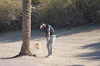 Joost Luiten (NED) in the rough on the 8th during Round 1 of the Abu Dhabi HSBC Championship 2020 at the Abu Dhabi Golf Club, Abu Dhabi, United Arab Emirates. 16/01/2020<br /> Picture: Golffile | Thos Caffrey<br /> <br /> <br /> All photo usage must carry mandatory copyright credit (© Golffile | Thos Caffrey)