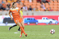 Houston, TX - Saturday July 22, 2017: Cami Privett during a regular season National Women's Soccer League (NWSL) match between the Houston Dash and the Boston Breakers at BBVA Compass Stadium.