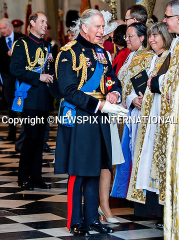 18.06.2015; London, UK: PRINCE CHARLES, CAMILLA AND PRINCE AND EDWARD<br />