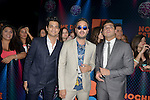 CORAL GABLES, FL - JULY 14: Jesús Alberto Navarro Rosas, Julio Ramírez Eguía and Gilberto Marín Espinoza of  Reik attends the Univision's 13th Edition Of Premios Juventud Youth Awards at Bank United Center on July 14, 2016 in Coral Gablesi, Florida.  ( Photo by Johnny Louis / jlnphotography.com )