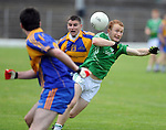 13-08-2014 :  : Thomas Hickey, St, Kierans, in action against John Spillane,  Kenmare District, in the  Kerry U-21 football Championship final at Fitzgerald Stadium, Killarney,  on Wednesday night. Picture: Eamonn Keogh (MacMonagle, Killarney)