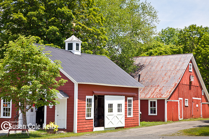 The Blacksmith shop in Grafton, VT, USA