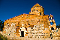 Armenian church on Aghtamar (Akdamar) island, on Van Lake (Eastern Turkey)