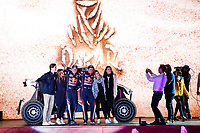 4th January 2020, Jeddah, Saudi Arabia;   403 Despres Cyril fra, Horn Mike che, OT3, Red Bull Offroad Team USA during the departure ceremony of the 2020 Dakar in Jeddah, Saudi Arabia on January 4th 2020