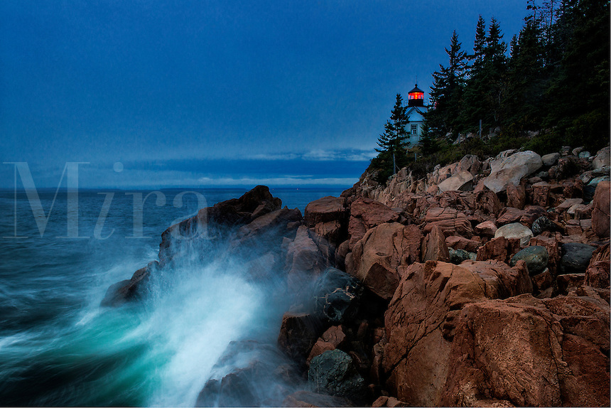 Lighthouse, Bass Harbor, Maine,  USA
