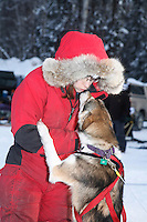 Sunday February 27, 2010     Junior Iditarod at Willow Lake, Alaska