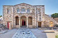 The Monastery of Panagia Ekatontapiliani in Paroikia of Paros, Greece