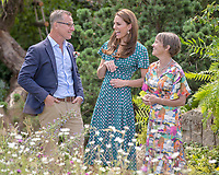 01 July 2019 - London, UK - Kate Duchess of Cambridge, Catherine, Katherine Middleton during a visit to the Back to Nature Garden at Hampton Court Palace Garden Festival. Photo Credit: ALPR/AdMedia