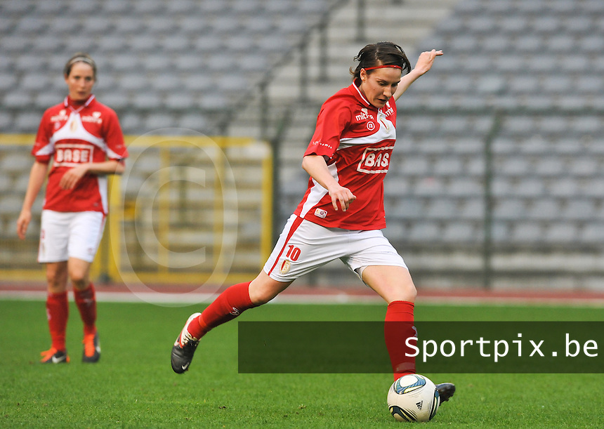 RSC Anderlecht Dames - Standard Femina de Liege : Elke Meers.foto DAVID CATRY / Vrouwenteam.be