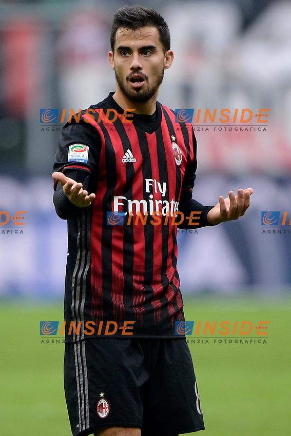 Suso Milan<br /> Milano 4-12-2016 Stadio Giuseppe Meazza - Football Calcio Serie A Milan - Crotone Foto Giuseppe Celeste / Insidefoto
