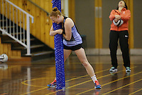 16.09.2016 Sam Sinclair trains with the Silver Ferns during traning ahead of the last Taini Jamison netball match between the Silver Ferns and Jamaica to be played in Rotorua. Mandatory Photo Credit ©Michael Bradley.