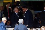 Florentino Perez and Ronaldo Nazario during La Liga match. Aug 24, 2019. (ALTERPHOTOS/Manu R.B.)