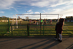Rushall Olympic 1 Workingon 0, 17/02/2018. Dales Lane, Northern Premier League Premier Division. Rushall defend as Workington press for an equaliser. Photo by Paul Thompson. Rushall Olympic 1 Workingon 0, Northern Premier League Premier Division, 17th February 2018. Rushall is a former mining village now part of the northern suburbs of Walsall.