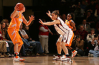 22 December 2007: Jeanette Pohlen during Stanford's 73-69 win over Tennessee at Maples Pavilion in Stanford, CA.